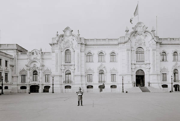 Photograph - The Presidential Palace by Shaun Higson