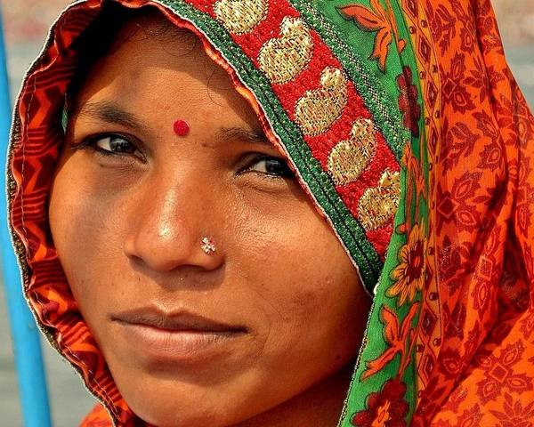 Bemis Photograph - The Pride Of Indian Womenhood by Kim Bemis