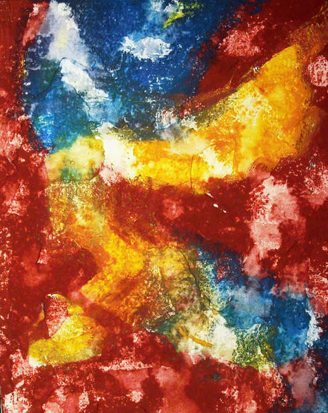 Primary Colors Mixed Media - The Primaries by Betsy Jones