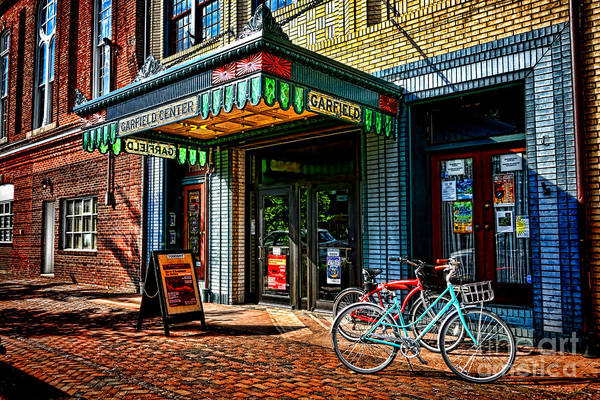 Maryland Photograph - The Prince Theater by Olivier Le Queinec