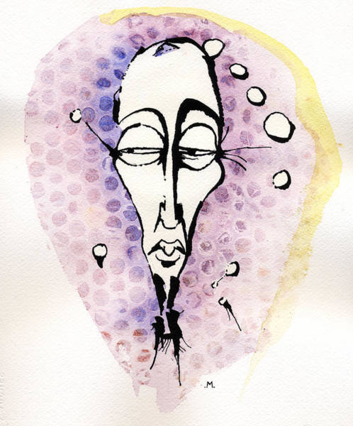 Thoughts Mixed Media - The Prophet Three by Mark M  Mellon