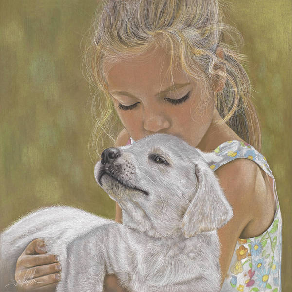 Painting - The Puppy by Terry Kirkland Cook