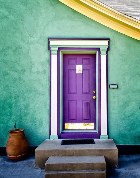 Photograph - The Purple Door by Michael Ash
