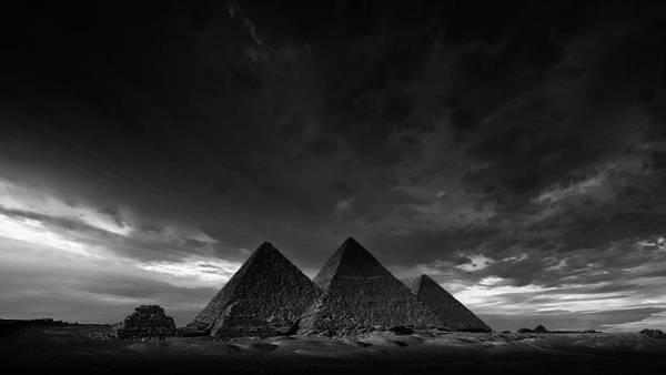Giza Photograph - The Pyramids Of Giza, Egypt by Nick Brundle Photography