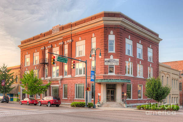 Photograph - The Pythian Building I by Clarence Holmes