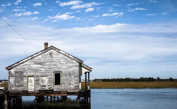 Kiawah Island Photograph - The Quarter Master House On Sullivan's Island by Alyssa Dungo