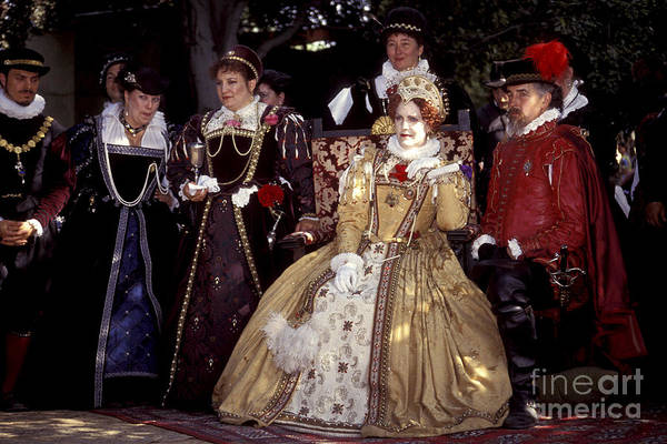 Photograph - The Queen And Her Court by Paul W Faust -  Impressions of Light