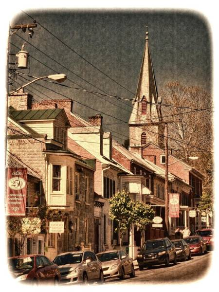 Photograph - The Quintessential Semiquincentennial - Shepherdstown Wv  by Julia Springer