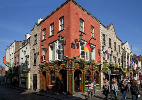 Temple Bar Wall Art - Photograph - The Quys, Tiled Victorian Pub, Temple by Panoramic Images