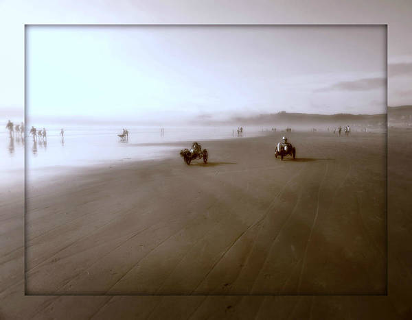 Photograph - The Race by Micki Findlay
