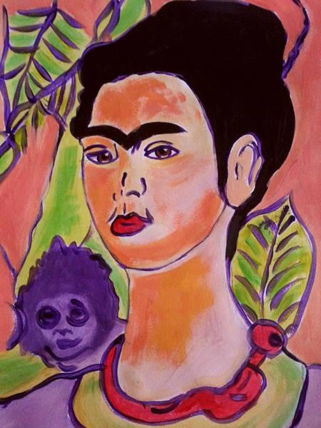 Painting - The Radiant Frida Kahlo 1 by Nikki Dalton