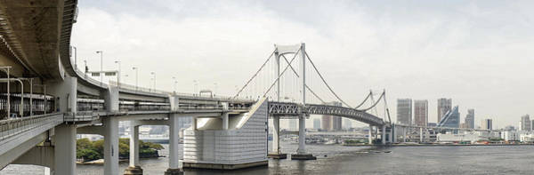Photograph - The Rainbow Bridge In Tokyo by For Ninety One Days