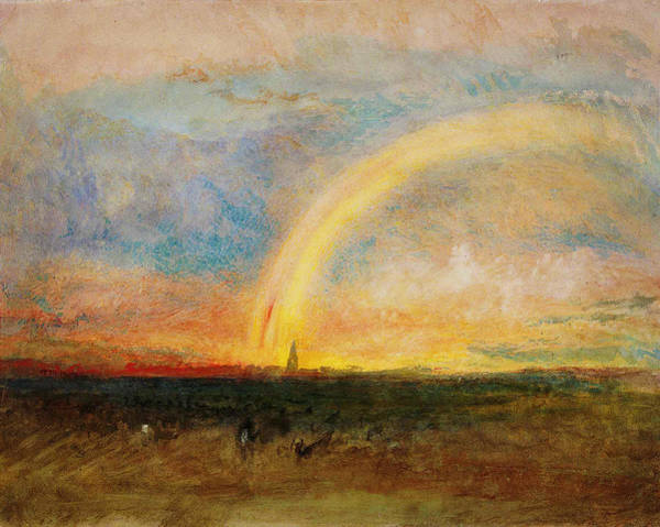 Painting - The Rainbow by Celestial Images