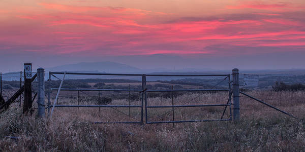 Big Sky Photograph - The Ranch by Peter Tellone