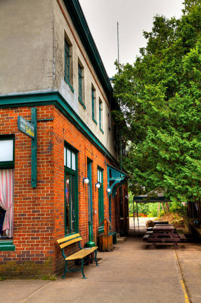 Photograph - The Raquette Hotel And Tap Room by David Patterson