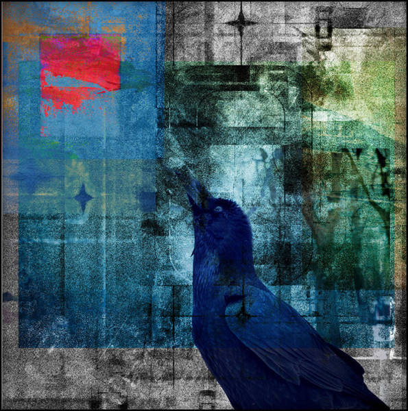 Painting - The Raven - Eye On The Prize by Douglas MooreZart