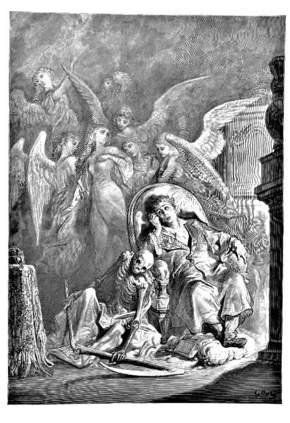 Raven Drawing - The Raven Edgar Allan Poe Illustration by