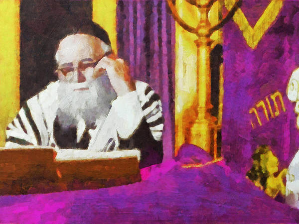 Digital Art - The Rebbe by Digital Photographic Arts