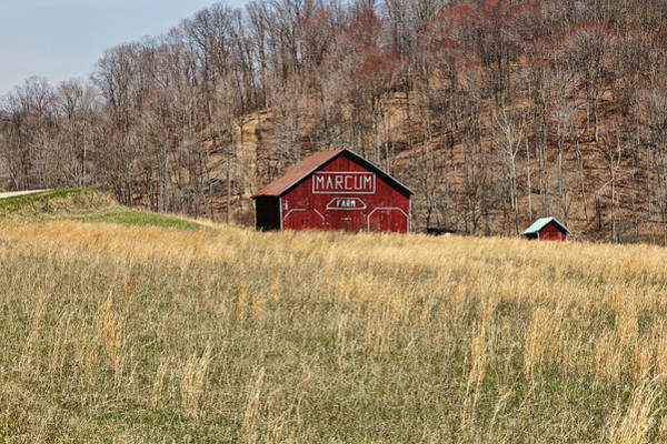 Photograph - The Red Barn by Jack R Perry
