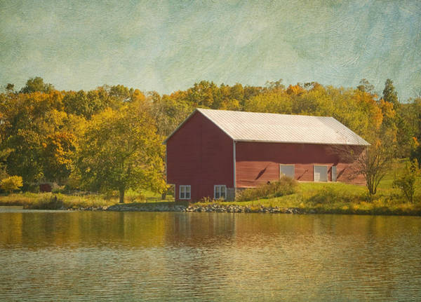 Photograph - The Red Barn by Kim Hojnacki