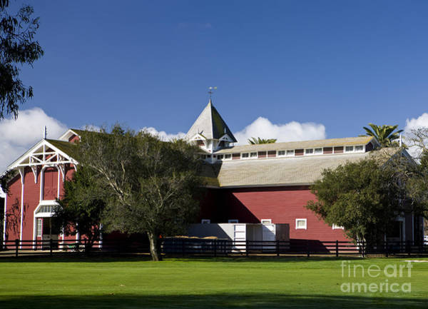 Wall Art - Photograph - The Red Barn Stanford University by Jason O Watson