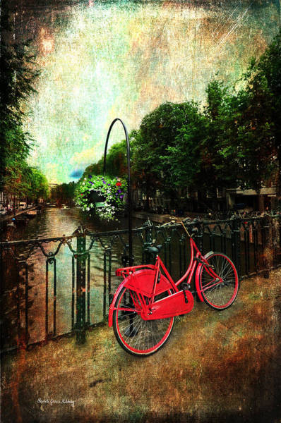 Photograph - The Red Bicycle by Randi Grace Nilsberg