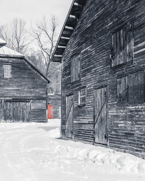 Windsor Wall Art - Photograph - The Red Door by Edward Fielding