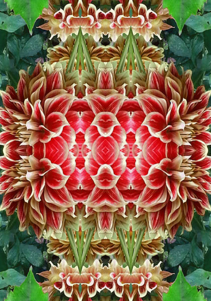 Essence Digital Art - The Red Door To New Dimensions   by Marie-Louise Svensson