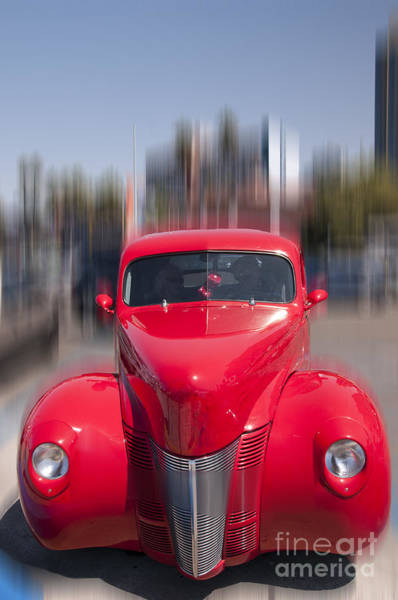 Photograph - The Red Flash by Brenda Kean
