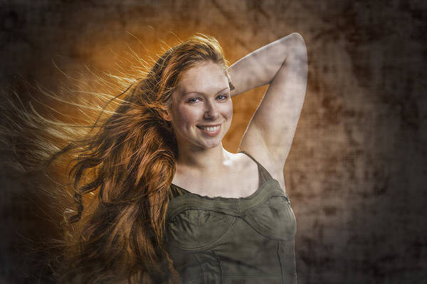 Photograph - The Red Head by M K Miller