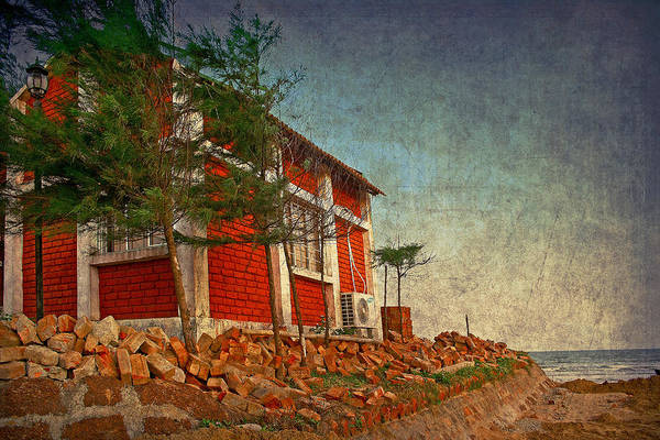 Photograph - The Red House by Arkamitra Roy