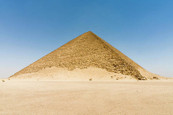 Ancient Egypt Photograph - The Red Pyramid (senefru Or Snefru by Nico Tondini