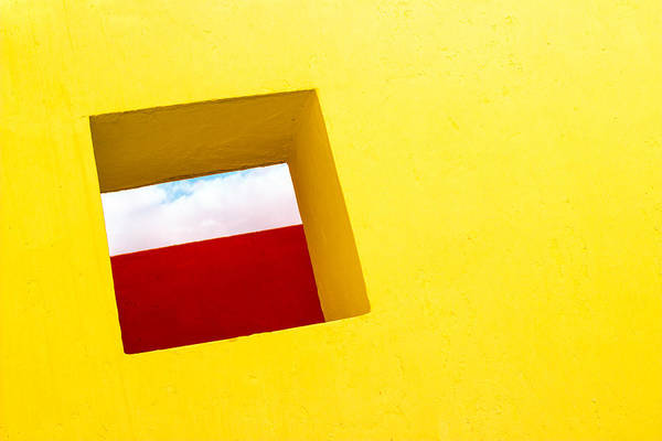 the Red Rectangle Art Print