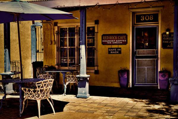 Photograph - The Red Rock Cafe - Old Town - Albuquerque by David Patterson