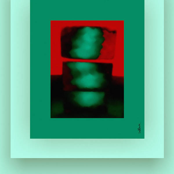 Wall Art - Digital Art - The Red Shine by Mihaela Stancu