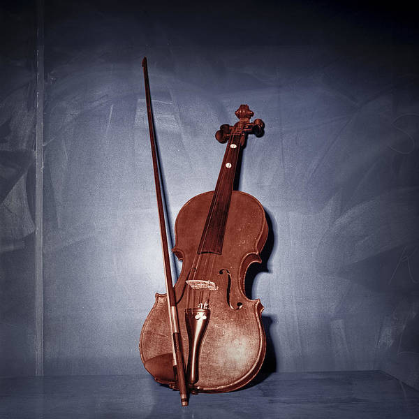Photograph - The Red Violin by Randall Nyhof