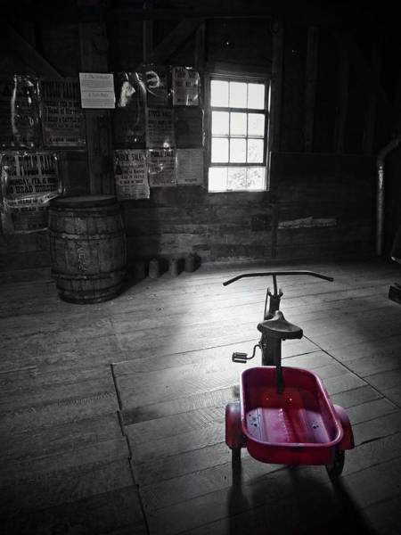 Photograph - The Red Wagon by Natasha Marco