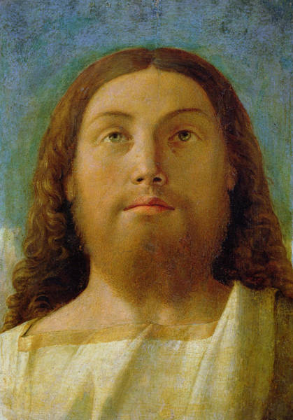 Redeemer Wall Art - Painting - The Redeemer by Giovanni Bellini