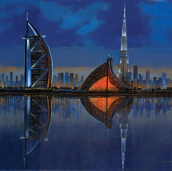 Painting - The Reflection  by Art Tantra