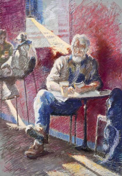 Painting - The Regular by Ellen Dreibelbis