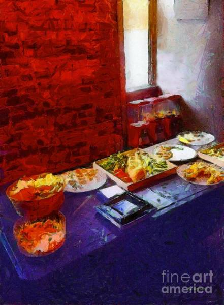 Painting - The Remains Of The Feast by RC DeWinter
