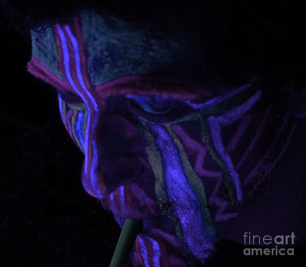 Blacklight Photograph - The Remedy by Xn Tyler