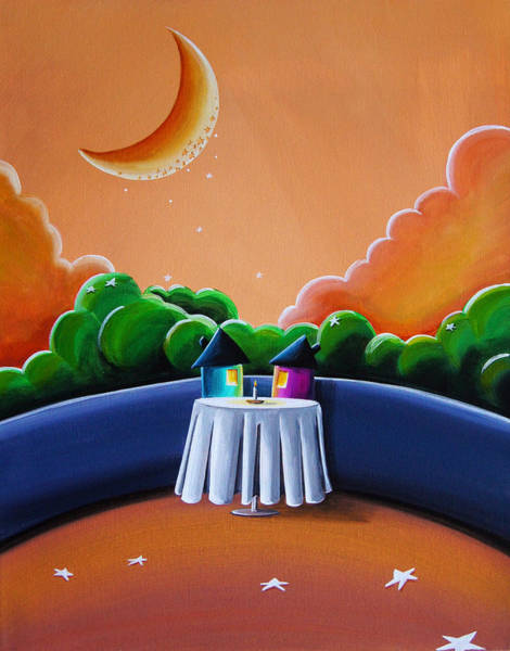 Wall Art - Painting - The Restaurant by Cindy Thornton