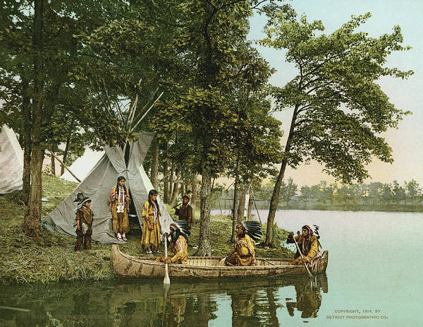 Detroit Lake Wall Art - Photograph - The Return Of The Hunters by Underwood Archives