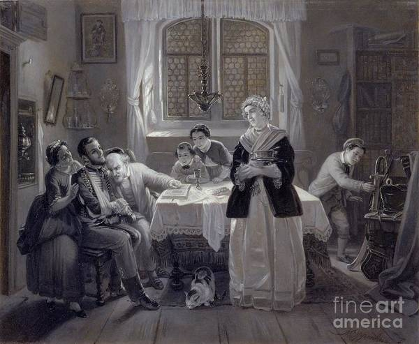 Painting - The Return Of The Jewish Volunteer by Celestial Images