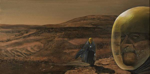 Planet Painting - The Return by Simon Kregar
