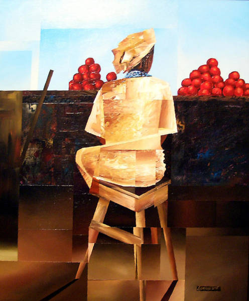 Painting - The Rhythm Of Things by Laurend Doumba