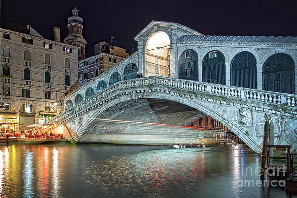 Wall Art - Photograph - The Rialto Bridge by Delphimages Photo Creations