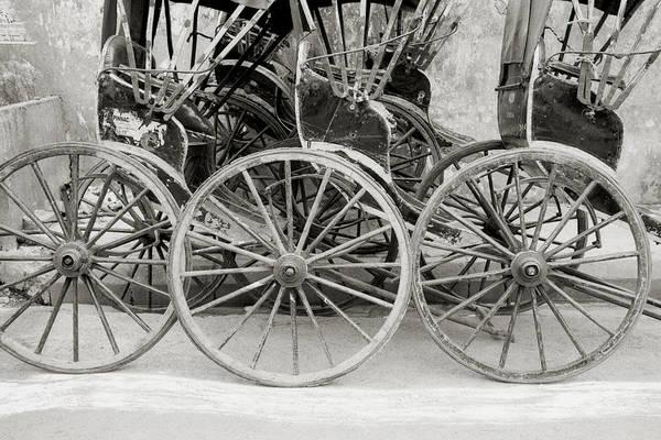Photograph - The Rickshaws by Shaun Higson
