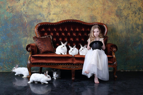 Wall Art - Photograph - The Riddle Or how Many Rabbits Are There On The Photo? by Victoria Ivanova